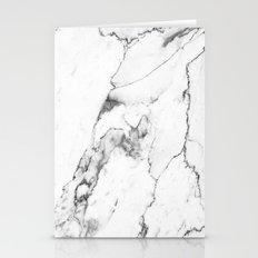 White Marble I Stationery Cards
