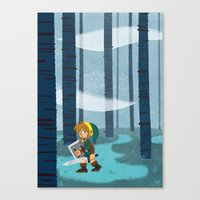 The Lost Woods Canvas Print
