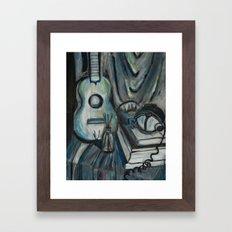 Ukulele Framed Art Print