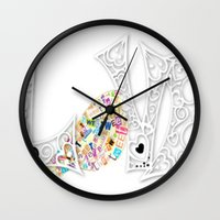 Sharing The Love Wall Clock
