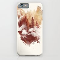 iPhone Cases featuring Blind fox by Robert Farkas