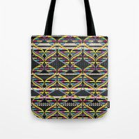 Pattern DNA Tote Bag