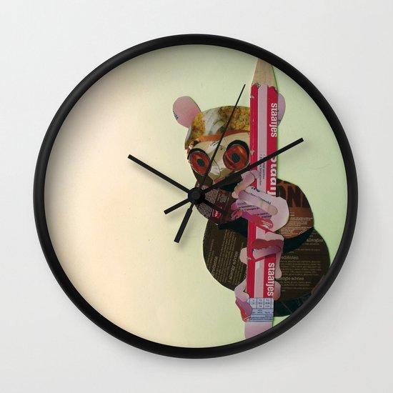 Siau Island tarsier (Tarsius tumpara) Wall Clock