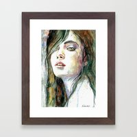 Heart Of A Rainforest Framed Art Print