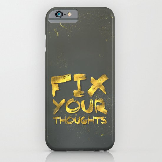 "Phil 4:8 ""Fix your thoughts..."" iPhone & iPod Case"
