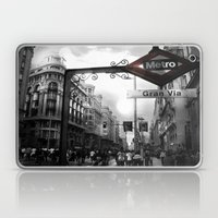 Gran Via-Madrid Laptop & iPad Skin