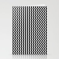 Black And White Vertical… Stationery Cards