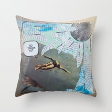 No Takers Yet  Throw Pillow