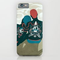 iPhone Cases featuring Love You / Love Me - Us and Them by Victor Beuren