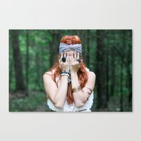Hide & Seek Canvas Print