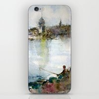 Fishing iPhone & iPod Skin