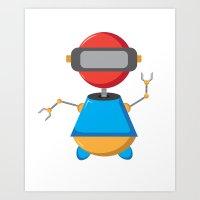 ROBOT SI Art Print
