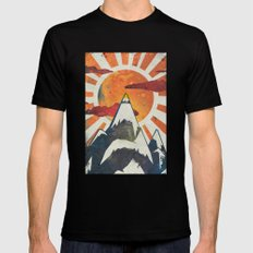 Mount Spitfire Black SMALL Mens Fitted Tee