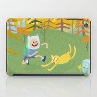 adventure friends iPad Case