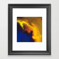 Mystical Movement Framed Art Print