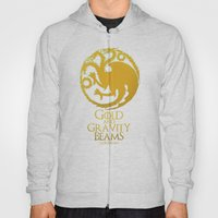 Gold and Gravity Beams Hoody
