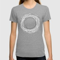 Endless Womens Fitted Tee Tri-Grey SMALL