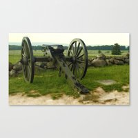 Cannon Of The Past Canvas Print