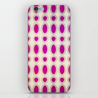 Pink Chains iPhone & iPod Skin