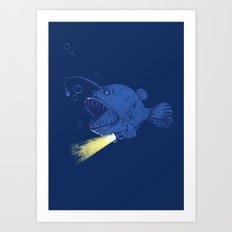 I GOT A NEW LIGHT!!!!!!!  Art Print