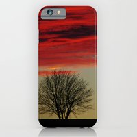 iPhone & iPod Case featuring Sky Fire by Tanja Riedel