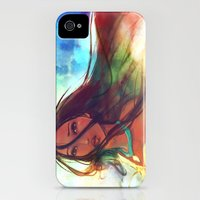 iPhone Cases featuring The Wind... by Alice X. Zhang