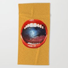Taste Bud Regrowth Beach Towel