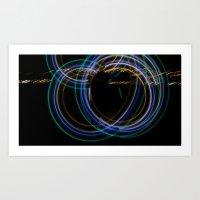 Dimension of Light  Art Print