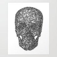 TranSkull Art Print