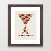 Hourglass Framed Art Print