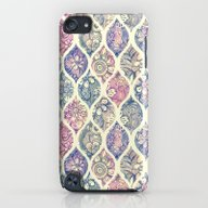 Patterned & Painted Flor… iPod touch Slim Case