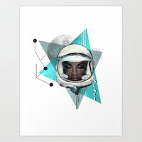 Need More Space Art Print