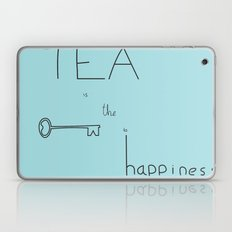 Tea is the Key to Happiness Laptop & iPad Skin