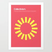 Collectivism Art Print