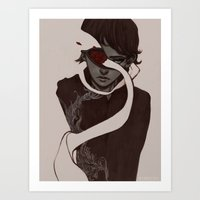jammed Art Print