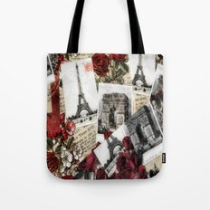 Postcards from Paris Tote Bag