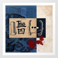 One And Three Quarters O… Art Print