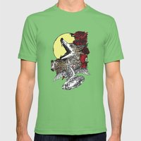 Grimm Mens Fitted Tee Grass SMALL