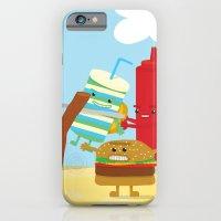 Vegetables Vs. Fast Food iPhone 6 Slim Case