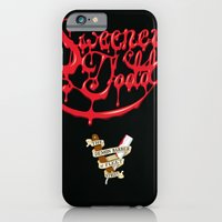 iPhone & iPod Case featuring Sweeney Todd Blood by greckler