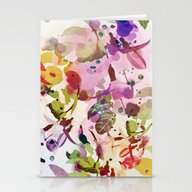 Multicolore Abstract Fuc… Stationery Cards