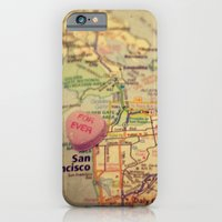 iPhone & iPod Case featuring Forever San Francisco by CAPow!