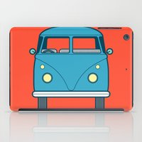 #53 Volkswagen Type 2 Splitscreen Bus iPad Case