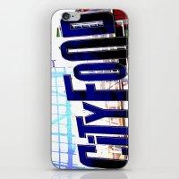 City Food iPhone & iPod Skin