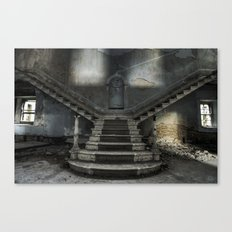 The beauty of abandon  Canvas Print