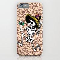 DANCING CALAVERA  iPhone 6 Slim Case