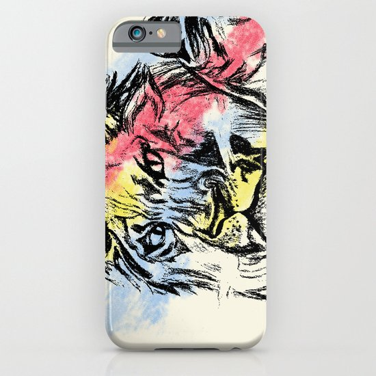 Lion (Tan) iPhone & iPod Case