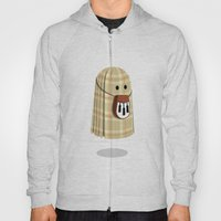 Plaid ghost Hoody