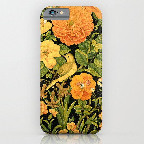 Floral Bird iPhone & iPod Case