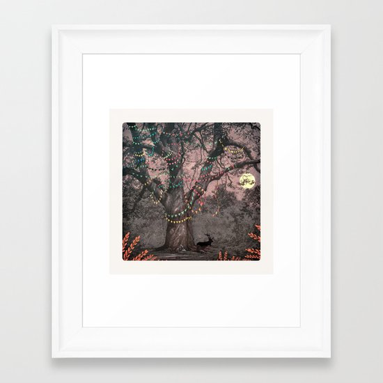 The party... Framed Art Print